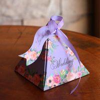 Cheap favor boxes weddings wholesale Best gold and black wedding favor boxes