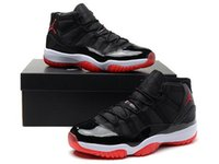 air jordans 11 - New Brand Air Jordans Retro Red Black Mens Womens Basketball Sports Sneaker shoes dan s Retro AJ11 Shoes high quality
