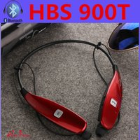 best radio mic - NEW sport bike HBS T HBS900T wireless Bluetooth best earphones with mic Radio TF card inserted for iphone samsung htc lg