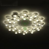 array of arrays - Creative plum flower DNA molecules Array of stars type surface mounted LED ceiling lights lamp Hotel club bar cafe LLWA055