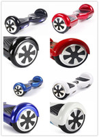 Wholesale Stock in USA Smart Electric Skateboard Self Balancing Wheel Hover Board no Bluetooth Smart Balance Scooter inch Two Wheels Dropshipping