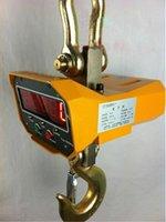 Wholesale 5000kg V Industrial Hanging Crane OCS C T kg Scale Hook LCD Remote Scale