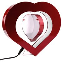 Wholesale lectro Magnetic Levitating Picture Frame Heart Shaped Floating Picture Frame Magnetic Levitation Floating photo frame Brand New