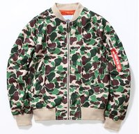air force baseball - mens bomber jacket air force nasa jacket camouflage Air force pilot jackets college ma1 camo baseball jacket coats