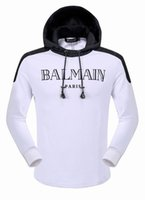 low price hoodies - Low Price Autumn Hot Sell New Trend Fashion Balmain Color Men s Hoodies Jacket Coat