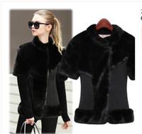 Wholesale 2016 New Fashion Autumn Winter Leather Jackets Pu Outerwear fur coats winter jacket winter coat