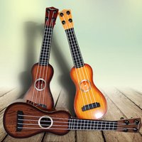 Wholesale Children toys simulation mini instrument guitars Beginners can play baby toys early education enlightenment