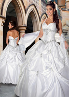 Cheap Model Pictures Bridal gowns Best Sweetheart Sleeveless 2016 wedding dresses