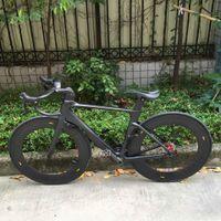 Wholesale 2016 Hotsale Carbon Road Frame T1000 Vemge Vias Carbon Bike Frames Chinese Carbon Frame fork seatpost clamp headset brakes stem handlebar