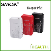 battery dynamics - Smok Koopor Plus W TC Mod Dual Driver System Powered by Dual battery with High Frequency Dynamic Monitoring Resistance Technology