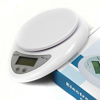 Wholesale 5000g g kg Food Diet Postal Kitchen Digital Scale scales balance weight weighting b05 battery included