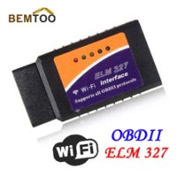 Wholesale Latest Version ELM327 WIFI OBD2 OBDII Auto Diagnostic Scanner Tool ELM WiFi tool bandit
