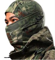 Wholesale Ski Tight Camouflage Balaclava Armd Tactical Airsoft Hunting Outdoor Military Motorcycle CS Cycling Protection Full Face Mas