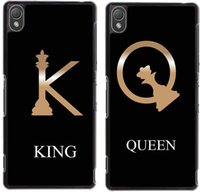best friends case - Fashion King Queen Couple Lovers Best Friends Cell Phone Case for Iphone4 s plus Samsung galaxyS3 S4 S5 S6 S7 Note note3 note4