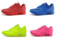 Wholesale Women Men Sneakers Woman Hyperfuse Shoes HYP QS PRM USA Flag Independence Day Walking Shoes