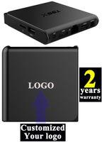 Wholesale 1PCS Customized years warranty Android6 TV boxes IPTV K KODI16 Ares Apolo SpinzTV Chroma Blackbox Pulse S905x GB GB T95X