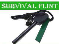 Wholesale Survival Flint Magnesium Striker Fire Starter Stick Rod large size