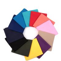 Wholesale Retail Various Outdoor Sports Tube Elastic Seamless Plain Bandana Buffs Solid Multifunctional Headwears