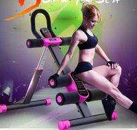 Wholesale factory Vertical Roller Coaster home sports fitness equipment Roller Coaster Abdomen machine ab rollers