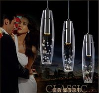 Wholesale 2017 fast ship led chandeliers glass chandelier head restaurant lamp contemporary and contracted lamp crystal droplight creative droplight