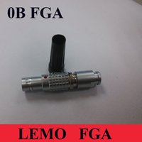 Wholesale LEMO Connector FGA B Pin Two Keying Male Plug Connector