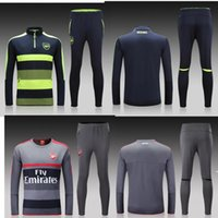 arsenal training - 2016 real madrid Tracksuits top quality real madrid Training suit RONALDO BENZEMA JAMES BALE Arsenal football Tracksuits