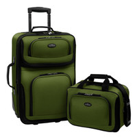Wholesale Carry on Rolling Expandable Luggage Lightweight Suitcase Tote Bag Set