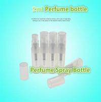 Wholesale New ml plastic perfume bottle perfume Atomizer dispensing portable empty bottle nozzle perfume bottle plastic spray bottle