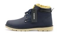 Wholesale ZIMNIE Hot Super Warm Men s Winter Pu Leather Ankle Boots Men Autumn Waterproof Snow Boots Leisure Martin Autumn Boots Shoes Mens