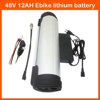 Wholesale Rechargeable V W Bicycle battery pack V AH Electric Bike lithium ion kettle Battery with A BMS A charger