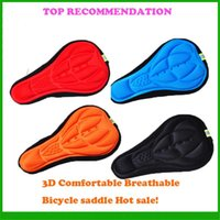 Wholesale Bike Saddle Cover Bicycle Seat Case Outdoor Racing Saddle Seat for Road Mountain Bike Soft Cushion