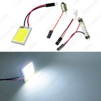 automobile chips - 30set Car cob SMD T10 festoon dome chip automobile panel lights LED reading lamp quality guaranteed