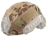 ballistic materials - Tactical Helmet Cover for Ops Core Fast Ballistic Helmet Cloth Cover for BJ PJ MH Type High Quality Nylon Material Helmet Cover