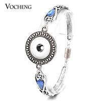 Wholesale VOCHENG NOOSA Styles Magnet Clasp Snap Charm Bracelet mm Vintage Interchangeable Jewelry NN