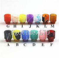 Colorful acrylique Drip Tips Pour 510 E Cigarette de E Cigs 510 Embouchure Drip Tip 16mm Fit CE4 CE5 EGO Atomiseurs Mods Réservoir
