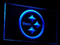 bars clubs - b055 Pittsburgh Steelers Bar Club LED Neon Sign Bar Beer Decor Dropshipping colors to choose