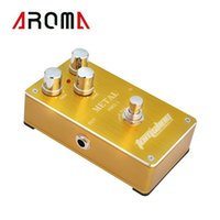 amd power consumption - Aroma AMD Aluminum Alloy Housing Metal Distortion Electric Guitar Effect Pedal True Bypass Low Power Consumption