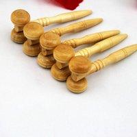 Wholesale Wood Face massager Face massage Eye massager Eye Massage round Wooden mini massage