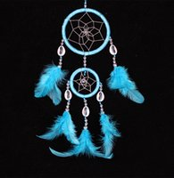Wholesale New Arrival Feather dream catcher decor feather decorations dream catchers in mixed colors