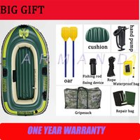 Wholesale Top quality Rubber boats Four independent air chamber fishing boats and rescue boats hovercraft four people