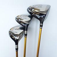 Wholesale 3 Star Honma Beres S Wood Set Golf Clubs Driver pc Fairway Woods Regular Stiff Flex Graphite Shaft With Head Cover