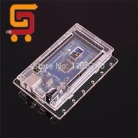 Wholesale New Transparent Acrylic Shell MEGA R3 Case MEGA2560 REV3 Box For Arduino