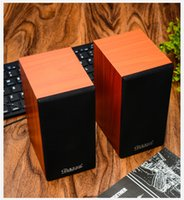 Wholesale Professional W USB Power BLUELOVER S60 Multimedia Wooden Speaker Music Player With