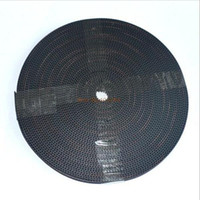 Cheap Wholesale-10Meters Rubber GT2 open timing belt width 6mm GT2-6mm for 3d printer RepRap Mendel Rostock CNC GT2 belt pulley