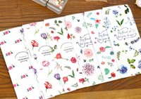 Wholesale New Set fashion light flower series Stationery envelopes nice paper envelope