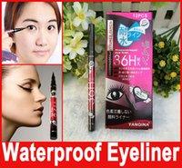 Wholesale Waterproof Black Eyeliner Liquid gel liner Make Up Beauty Comestics Eye Liner cosmetic makeup eyeliner pencil Hot