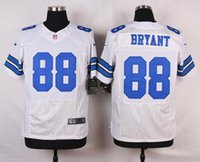 Wholesale 88 Dez Bryant New Mens Elite Cowboys White Football Jerseys gally