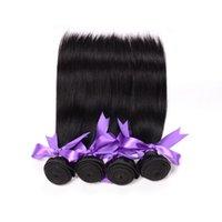 Wholesale 100 Human Hair Straight Hair Weaves Brazilian Bundle Hair Extensions