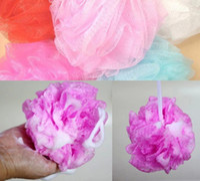 Wholesale Loofah Flower Bath Ball Bath Tubs Cool Ball Bath Towel Scrubber Body Cleaning Mesh Shower Wash Sponge