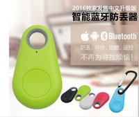 android phone finder gps - 30PCS iTag Bluetooth GPS Tracker Key Finder Anti Lost Alarm Tracer Mini Smart Devices for iphone android Phones with OPP Bag HBS900 HBS800